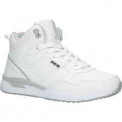 Białe buty sportowe sneakersy ocieplane sznurowane Big Star BB274638. Białe buty sportowe damskie BIG STAR. Za 178,99 zł.