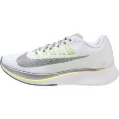 Nike Performance ZOOM FLY  Obuwie do biegania treningowe white/black/volt/bright citron. Białe buty do biegania damskie Nike Performance, z materiału. Za 629,00 zł.