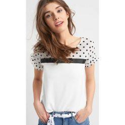 T-shirty damskie: Koszulka z wstążką