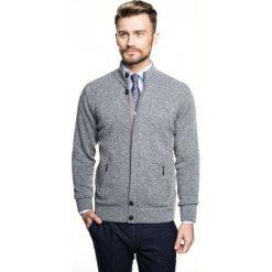 Sweter cheney stójka szary 0001. Szare swetry klasyczne męskie Recman, m, ze stójką. Za 249,00 zł.