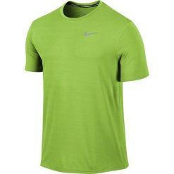 Koszulka do biegania męska NIKE DRI-FIT CONTOUR SHORT SLEEVE / 683517-313 - NIKE DRI-FIT CONTOUR SHORT SLEEVE. Zielone t-shirty męskie Nike, m, do biegania, dri-fit (nike). Za 129,00 zł.