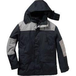 Kurtka 3 w 1 Regular Fit bonprix czarny. Czarne kurtki męskie bonprix, m, z polaru. Za 279,99 zł.