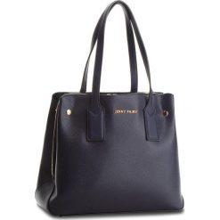 Torebka JENNY FAIRY - RH2026 Navy. Niebieskie torebki klasyczne damskie marki Jenny Fairy, ze skóry ekologicznej, bez dodatków. Za 119,99 zł.