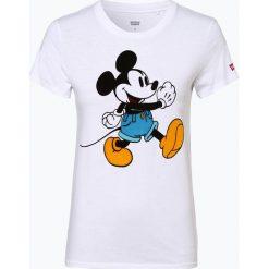 Levi's - T-shirt damski – Disney, czarny. Czarne t-shirty damskie Levi's®, s, z motywem z bajki. Za 119,95 zł.