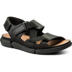 Sandały CLARKS - Trisand Sun 261332927 Black. Czarne sandały męskie skórzane Clarks. W wyprzedaży za 239,00 zł.