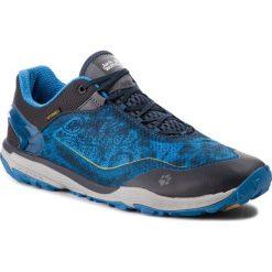Buty JACK WOLFSKIN - Crosstrail Shield 2 Low M 4024122 Electric Blue. Niebieskie buty do biegania męskie Jack Wolfskin, z materiału. Za 559,99 zł.