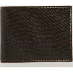 VIP COLLECTION - Portfel skórzany Toskania. Czarne portfele męskie marki VIP COLLECTION, z materiału. W wyprzedaży za 169,90 zł.