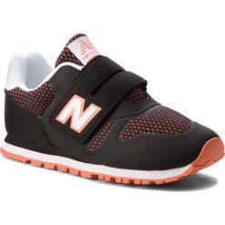 Trampki chłopięce: Sneakersy NEW BALANCE – KA373BOY Czarny