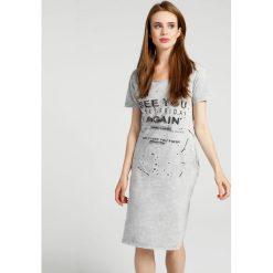 Sukienki: Sukienka - 8-5040 GREY