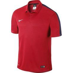 Koszulki polo: Nike Koszulka męska Squad15 SS Sideline Polo  czerwona r. S  (645538-657)