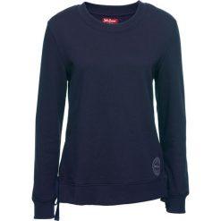 Bluza ze sznurowaniem bonprix ciemnoniebieski. Niebieskie bluzy damskie bonprix. Za 37,99 zł.
