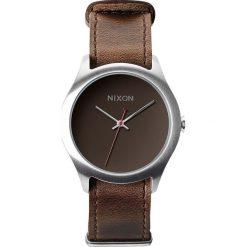 Zegarki damskie: Zegarek damski Brown Nixon Mod Leather A4281400
