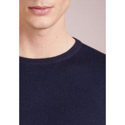 Swetry klasyczne męskie: J.CREW CASH CREW  Sweter navy