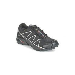 Buty do biegania Salomon  SPEEDCROSS 4 GTX®. Szare buty do biegania męskie marki Salomon, z gore-texu, na sznurówki, gore-tex. Za 699,00 zł.