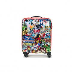 Walizki twarde American Tourister  MARVEL LEGENDS 55CM 4R. Szare walizki marki American Tourister, z motywem z bajki. Za 479,00 zł.