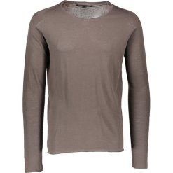 Swetry męskie: Sweter w kolorze brązowym