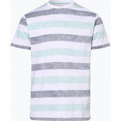 Nils Sundström - T-shirt męski, zielony. Zielone t-shirty męskie Nils Sundström, l, w paski, z bawełny. Za 69,95 zł.