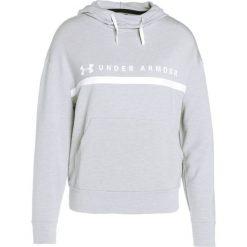 Bluzy damskie: Under Armour HOODED Bluza z kapturem true gray heather