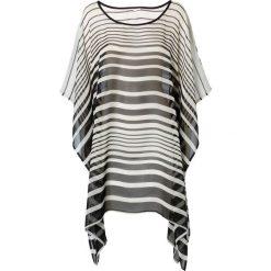 Tunika plażowa bonprix czarno-biały. Czarne tuniki damskie marki DOMYOS, z bawełny, street. Za 89,99 zł.