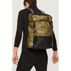 Plecak w sportowym stylu - Khaki. Brązowe plecaki męskie Reserved. Za 129,99 zł.