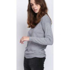 Szary Sweter Stand Alone. Szare swetry klasyczne damskie Born2be, na jesień, l. Za 39,99 zł.