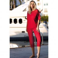 Piżama damska Arlen. Różowe piżamy damskie Astratex, w koronkowe wzory, z koronki. Za 119,99 zł.