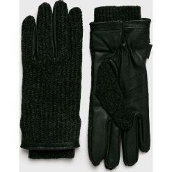 Barts - Rękawiczki. Czarne rękawiczki męskie marki Barts. W wyprzedaży za 199,90 zł.