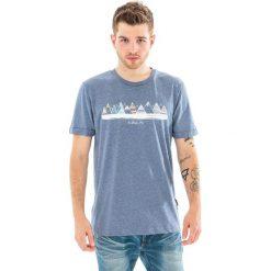 ELBRUS Koszulka męska BERGE navy melange r. M. Niebieskie koszulki sportowe męskie marki ELBRUS, m. Za 34,04 zł.