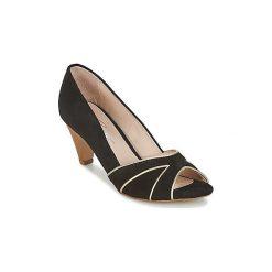 Czółenka Betty London  IMAMA. Czarne buty ślubne damskie Betty London. Za 305,20 zł.