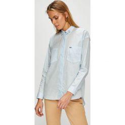 U.S. Polo - Koszula. Szare koszulki polo damskie U.S. Polo, s, z bawełny, casualowe, z klasycznym kołnierzykiem, z długim rękawem. W wyprzedaży za 299,90 zł.