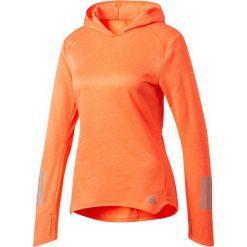 Bluzy damskie: Adidas Bluza damska Response Astro Hoodie pomarańczowa r.S (BK3160)