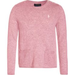 Swetry chłopięce: Polo Ralph Lauren EASY CREW Sweter petal rose heather