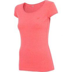 4f Koszulka damska koralowa r. XL (H4Z17-TSD001). Pomarańczowe topy sportowe damskie 4f, xl. Za 19,52 zł.