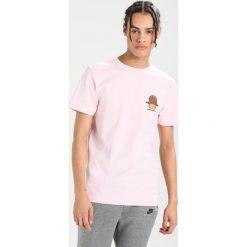 T-shirty męskie z nadrukiem: Cayler & Sons NOT HAPPY GARFIELD Tshirt z nadrukiem pale pink/multi colour