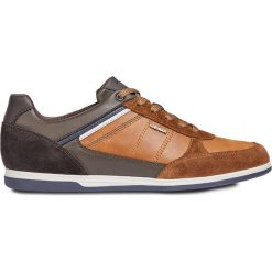 Geox - Buty. Brązowe buty skate męskie Geox, z materiału. W wyprzedaży za 399,90 zł.