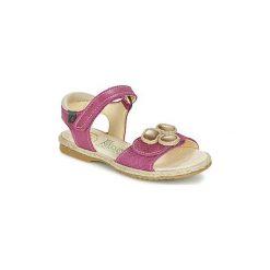 Sandały Dziecko  El Naturalista  SAMOA. Brązowe sandały dziewczęce marki El Naturalista. Za 263,20 zł.