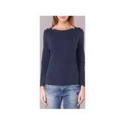 T-shirty z długim rękawem Petit Bateau  BOULDE. Niebieskie t-shirty damskie Petit Bateau, l. Za 161,10 zł.
