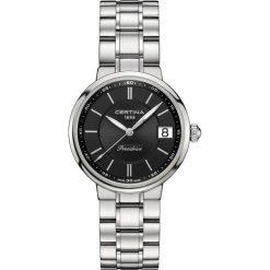 PROMOCJA ZEGAREK CERTINA DS Stella C031.210.11.051.00. Czarne zegarki damskie CERTINA, ze stali. W wyprzedaży za 1645,61 zł.