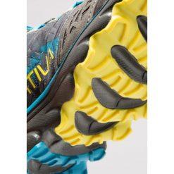 La Sportiva HELIOS 2.0 Obuwie do biegania Szlak carbon/tropic blue. Szare buty do biegania męskie La Sportiva, z gumy. Za 539,00 zł.