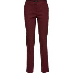 Chinosy męskie: Spodnie biznesowe ze stretchem, bengalina bonprix czerwony klonowy