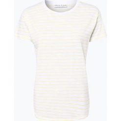 Bluzki, topy, tuniki: Marie Lund – T-shirt damski, żółty