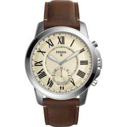 Fossil Q GRANT Zegarek silvercoloured. Szare, analogowe zegarki męskie Fossil Q. Za 759,00 zł.