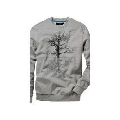 Bluza UNDERWORLD casual Drzewo. Szare bluzy męskie rozpinane marki Underworld, m, z nadrukiem, z bawełny. Za 119,99 zł.