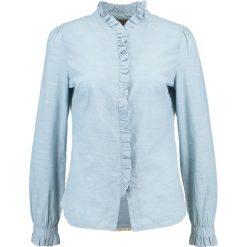 Noa Noa ORGANIC END ON END Koszula white. Niebieskie koszule damskie Noa Noa, z bawełny. W wyprzedaży za 226,85 zł.
