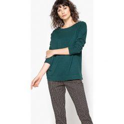 Swetry damskie: Sweter, okrągły dekolt, 100% kaszmir
