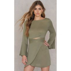 Sukienki hiszpanki: Morrisday The Label Sukienka Mini Georgie – Green