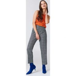 Spodnie z wysokim stanem: Samsoe & Samsoe Spodnie Heather – Multicolor