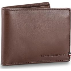 Portfele męskie: Duży Portfel Męski TOMMY HILFIGER – Th Burnished Mini Cc Wallet AM0AM02656 254