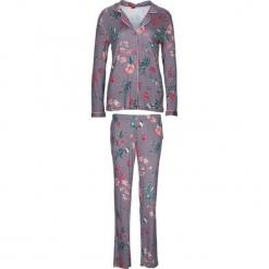 """Piżama """"Flower Dreams"""" w kolorze fiołkowym. Białe piżamy damskie marki LASCANA, w koronkowe wzory, z koronki. W wyprzedaży za 113,95 zł."""