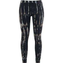 Spodnie damskie: Rock Rebel by EMP Batik Style Leggings Legginsy niebieski/czarny